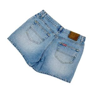 Womens Vintage Polo Ralph Lauren Light Wash Shorts